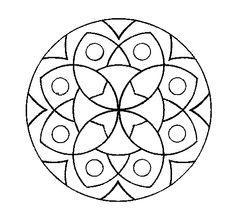Dibujo de Mandala 13