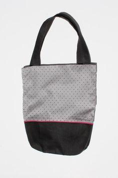 Sac bicolore avec passepoil, handmade  http://www.alittlemarket.com/boutique/natfournier-49816.html