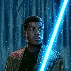 Pixalry - Finn Star Wars - Ideas of Finn Star Wars #finn #starwars #sw - Star Wars: The Force Awakens Portraits Created by Sam Gilbey
