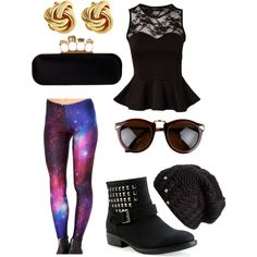 """galaxy fab"" by victoria-publicover on Polyvore"