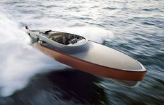 Rolls-Royce Merlin V12 powered Aeroboat - diseno-art.com