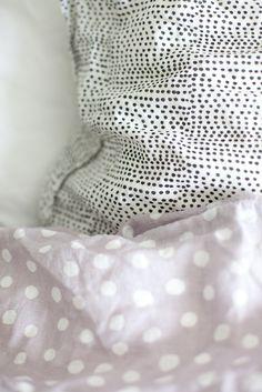 Dotted linen sheets | Vihreä talo