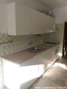 SENHOR FAZ TUDO - Faz tudo pelo seu lar !®: Montagem de cozinha Ikea na Póvoa de Santa Iria