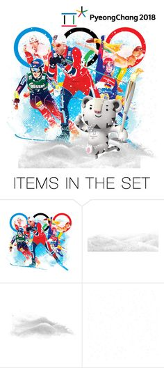 """""""Winter Olympics"""" by riagr ❤ liked on Polyvore featuring art and vintage"""