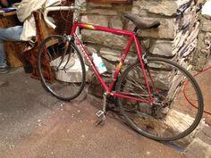 #Vald'Isère #Alpes #station #montagne #ski #France #vélo #bike #vintage #Peugeot