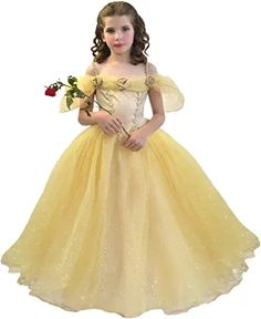 The bustier is decorated with satin ribbons, roses and an organza bouillonné pailleté arise gently on the shoulders. Princess Belle Costume, Disney Princess Belle, Bustiers, Gatsby Fancy Dress, Princesa Disney, Barbie Clothes, Flower Girl Dresses, Fashion Outfits, Wedding Dresses