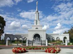Click to download this wallpaper image of the Sacramento California Mormon Temple