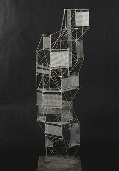 constant nieuwenhuys, new babylon : toren, 1959