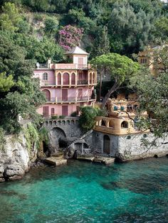 -Villa - Fuentes Georginas hot springs // Visit our guide for all the top places to visit in Guatemala Discover the most beautiful beaches in the world Seaside villas near Portofino, Italy Places Around The World, Around The Worlds, Portofino Italy, Beautiful Places To Travel, Beautiful Beaches, Travel Aesthetic, Dream Vacations, Italy Travel, Beautiful Landscapes