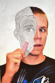 Erase your face self portraits