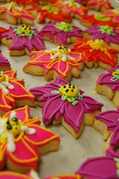 Spring cookies @ Rise and Shine Bakery.