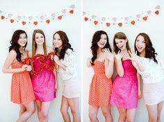 Senior Valentines Day photo shoot by Louisville Photographer Geni Bean of  Pink Owl Photography #seniors