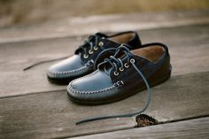 0473e56f8bc0 Special Edition Maliseet Oxfords for Unionmade San Francisco Penny Loafers,  Blue Shoes, Moccasins,