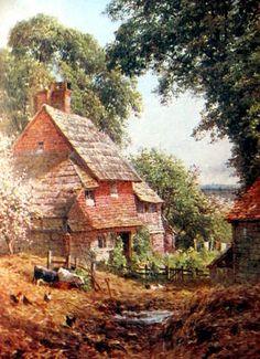 An Old Farm, near Leith Hill, Surrey