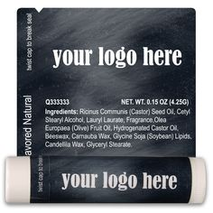 TLB2342 - Background Lip Balm Template 2342 #promoitem #chapstick
