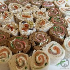 Stullen-Sushi für Partys und Brotdosen » Wie schon auf Instagram und im vorherigen Beitrag gezeigt, habe i ...