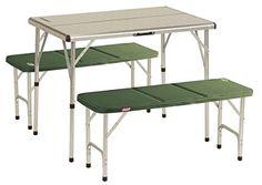 Campingtisch Pack-Away TM COLEMAN 205584 Mesa de Camping Table for 4 Blanco