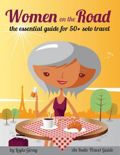 My new travel e-book - for baby boomer women!