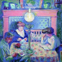 Interior after Dinner - Theodore Earl Butler - The Athenaeum