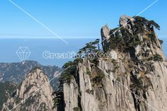 Huangshan mountain top, the Chinese saying goes: Once you have been up to and seen the incredible view from the yellow mountain you don't need to see any other mountain