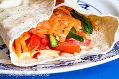 GoWell Diego's gluten free wrap