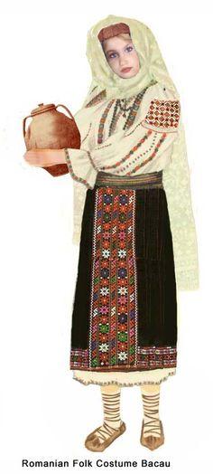 Costum Folk Costume, Halloween Costumes, Moldova, Fashion History, Romania, Winter Jackets, Embroidery, Folklore, Costume Ideas