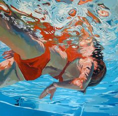 Sink iin, float. Samantha French. Anybody who is fascinated with water and does a good job with it, is my friend!!