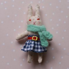 The Storybook Rabbit by thestorybookrabbit Vintage Outfits, Vintage Fashion, Vintage Clothing, Bunny Plush, Handmade Items, Handmade Gifts, Sleeping Bag, Vintage Ideas, Unique Vintage