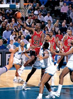 "Michael Jordan in the Air Jordan IV ""Fire Red"" #HeWoreEmBest"
