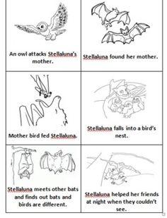 Stellaluna Story Sequence