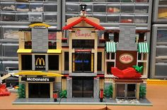LEGO City Fast Food Restaurants by Accurate Brick Innovations