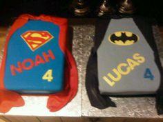 batman+cake   Batman & Superman Cake