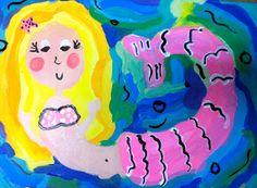 Sleepyhead Designs Studio: Painting Mermaids