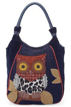 Handbags - Fashion Accessories - Next Made With Love Wide Eye Owl Bag - EziBuy Australia