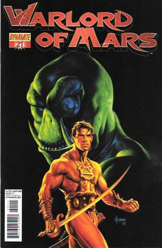 Warlord Of Mars # 21 Dynamite Entertainment