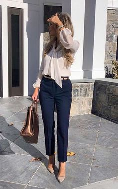 Business Casual Outfits For Work, Business Outfits Women, Office Outfits Women, Stylish Work Outfits, Spring Work Outfits, Mode Outfits, Smart Business Casual Women, Casual Smart Outfit Women, Casual Friday Work Outfits