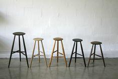 WOOD DESIGN INSPIRATION || 3 Legged Stool || #interiors #wood #stool #design
