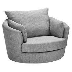 Buy John Lewis Antonio Swivel Chair, Riley Storm Online at johnlewis.com