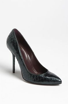 Gucci Genuine Python Pump available at #Nordstrom