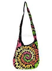 Robin Ruth bag; mine is the same color scheme but from Jamaica and perfect for summer; sling it across your body or just on your shoulder and stuff it full of your goodies :)