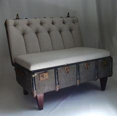 Suitcase Chair – Linen