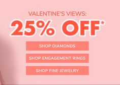 Shop James Allen for a wide selection of rings available to ship by Valentine's Day (if you order now!) Plus 25% savings.