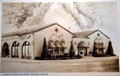 Sammy's, Highland Park Village, Dallas, Texas. This card was postmarked Oct. 13, 1949.