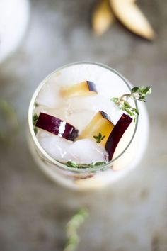 Plum and Thyme Prosecco Smash: My Diary of Us