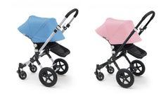 Maschietto o femminuccia? Soft Pink o Blue Ice? Questi e gli altri nuovi colori dei passeggini Bugaboo ti aspettano per ricolorare i set coordinati di accessori e le tue passeggiate primaverili! #primavera2014 #accessoripasseggini #passegginibugaboo