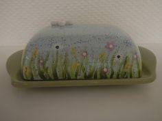 So eine schöne Butterdose.... gemalt bei Paint your Style Lüneburger Heide :)