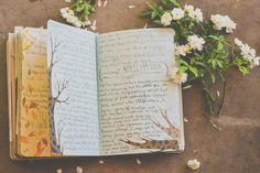Grace's Garden Walk. Can't stop pinning her gorgeous journals!