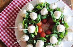 Balsamic Caprese Mozzarella Bites Recipe