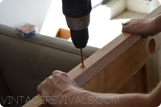 Vintage Revivals | How To Build A SIMPLE Sliding Barn Door Diy Barn Door, Diy Door, Barn Doors, Sliding Doors, Laundry Room Doors, Fixer Upper, Country Charm, Dorm Ideas, Diy Stuff