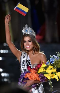 Poor colombia, adriana.She is the winner.